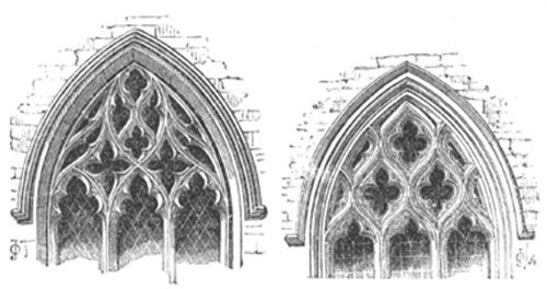 The vesica piscis seems to have determined the main proportion of a cathedral plan- the interior length and width across the transepts for instance, ...