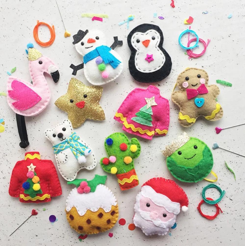 8 DIY Ornament Kits to Make or Give This Holiday Season