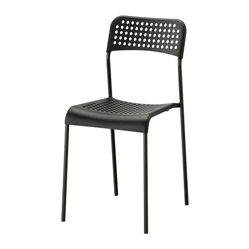 ADDE Stuhl, schwarz | Stuhl schwarz, Ikea und Stuhl