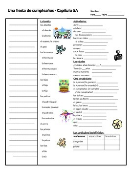 Realidades A Cornell Notes  Cornell Notes And Irregular Verbs