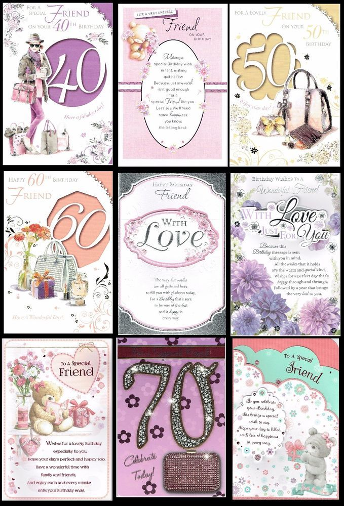 Special friend birthday cards with fabulous verses choice of special friend birthday cards with fabulous verses choice of design lk bookmarktalkfo Image collections