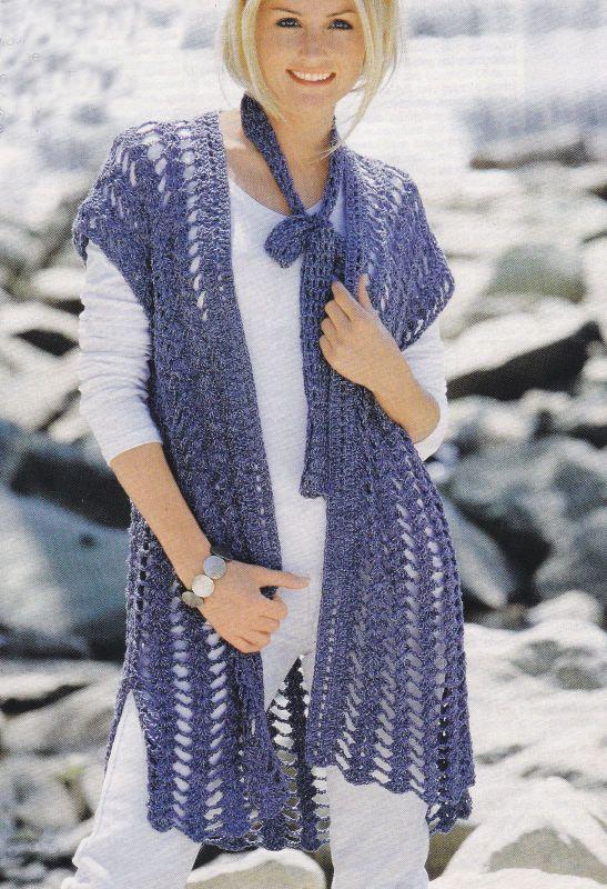 Afbeeldingsresultaat Voor Vest Haken Granny Yarn Pinterest