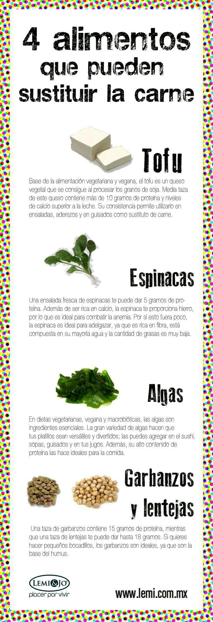 Populares 10 Alimentos con proteína vegetal para # veganos y  NG85