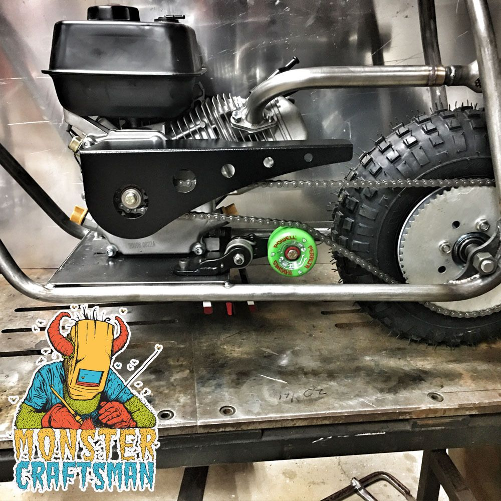 Parts and Accessories 64657: Mini Bike Chain Tensioner Predator Mod Bolt On Green Powell Peralta Usa Kart -> BUY IT NOW ONLY: $90 on eBay!