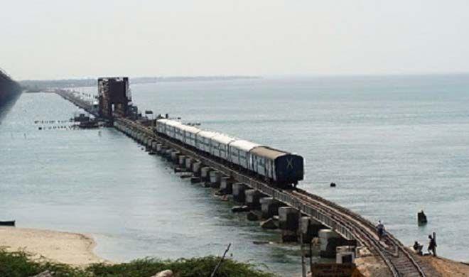 Pamban Rameshwaram Railway Route