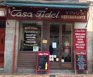 Pin En Tabernas De Madrid