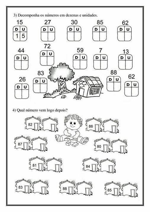 Atividade Aprendendo Os Numeros Volume 2 Atividades De
