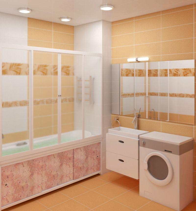 Экран под ванну (45 фото): как сделать установку, монтаж ...