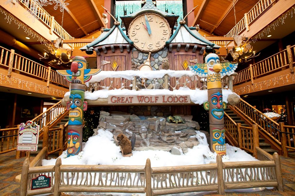 Snowland at Great Wolf Lodge is the most magical time of
