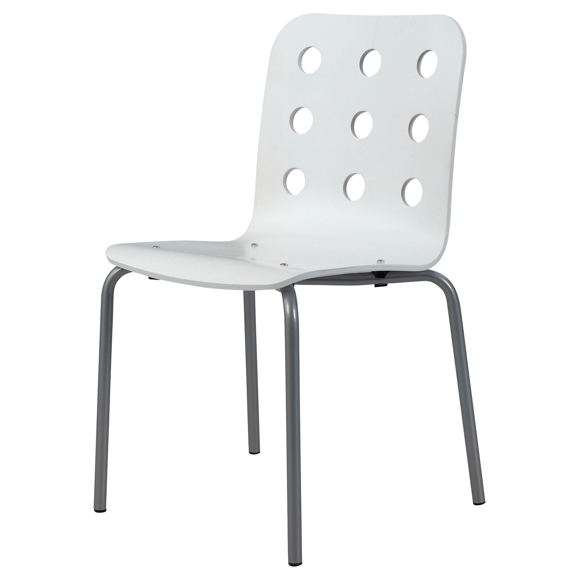 JULES Visitor chair white silver color IKEA $35 also es in