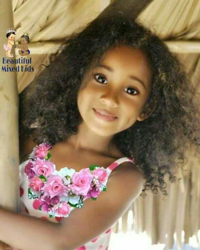 Evania Heart 5 Years Filipino Jamaican British Nigerian