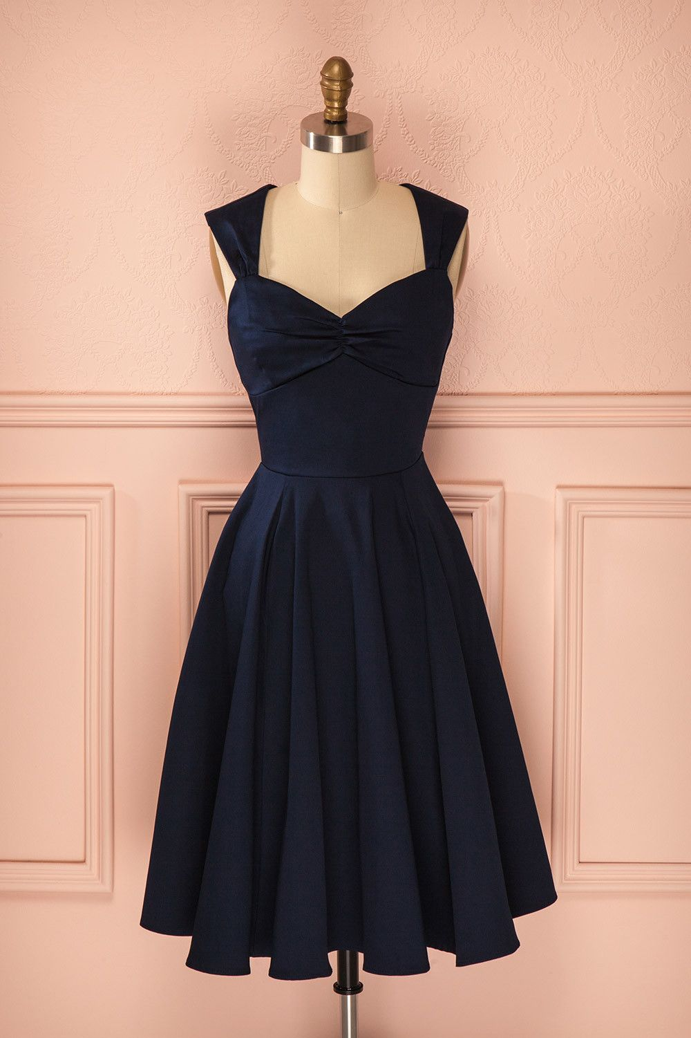 Short Homecoming Dress,Navy Blue Homecoming Dress,Homecoming Dresses ...