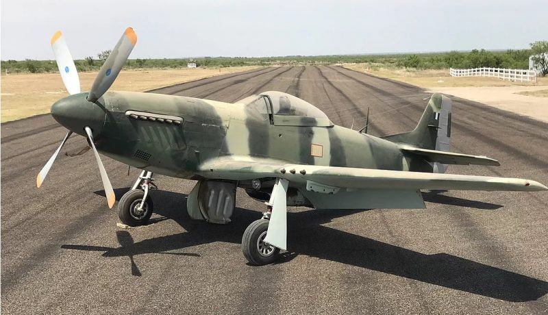 BARN FIND P 51 Mustang For Sale