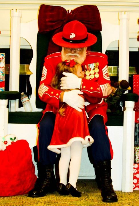 Gunny Claus.. Get a kick out of this photo because it remains me ...
