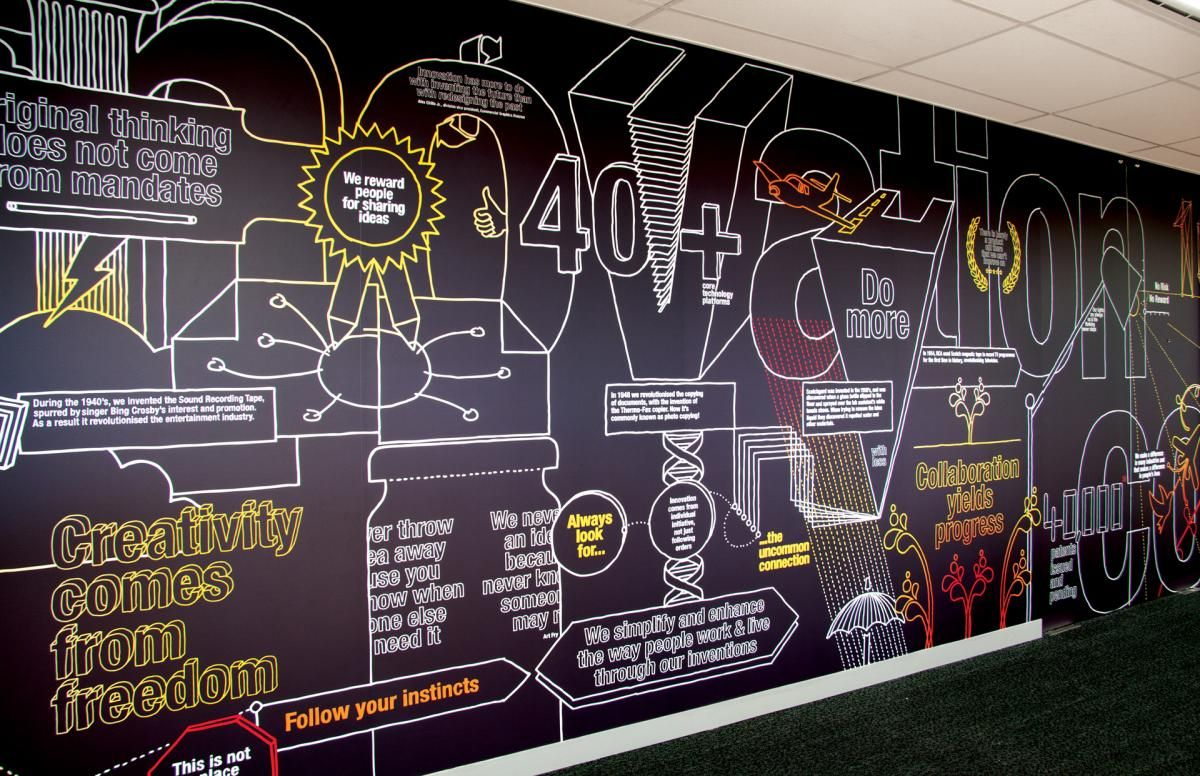 Office Tour: 3M Australias Creatively Branded ...