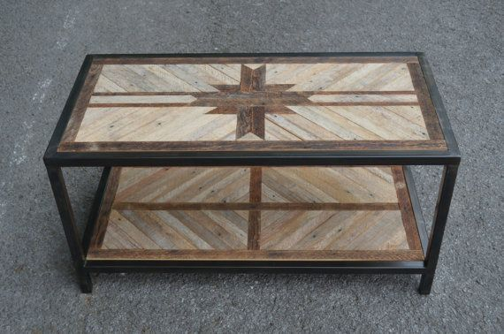 Hey, I found this really awesome Etsy listing at https://www.etsy.com/listing/198376001/reclaimed-wood-coffee-table-w-welded