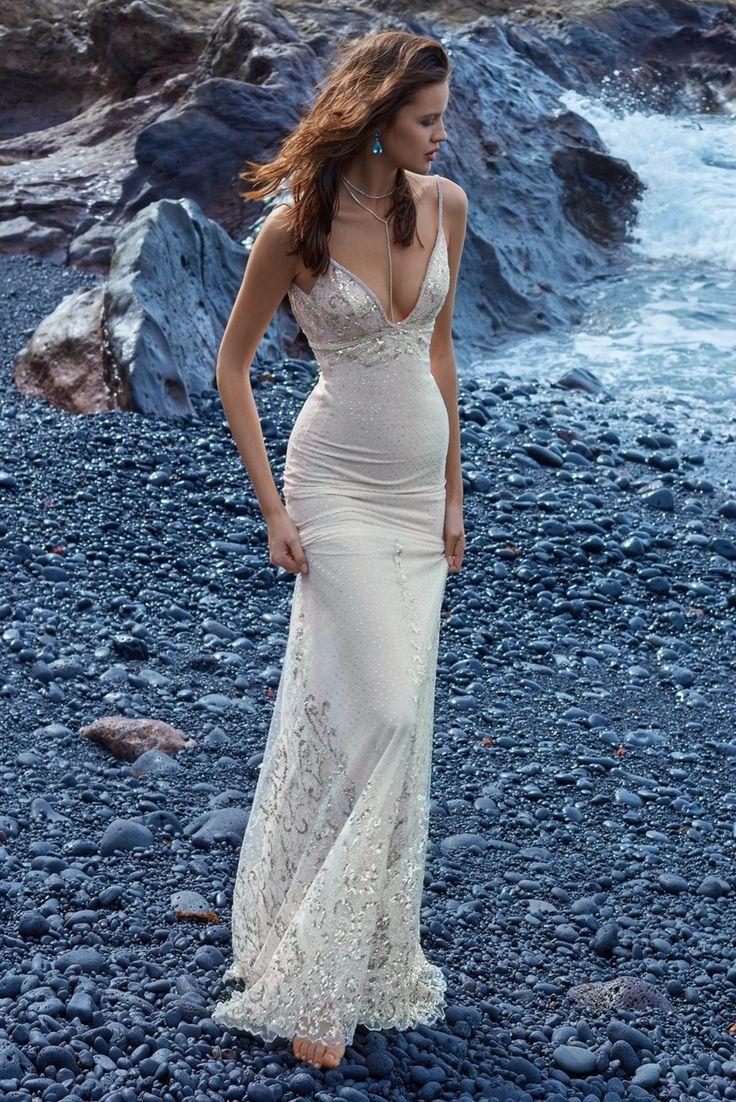 Teal and white wedding dresses  GALA  Bralette tops Wedding dress and Wedding
