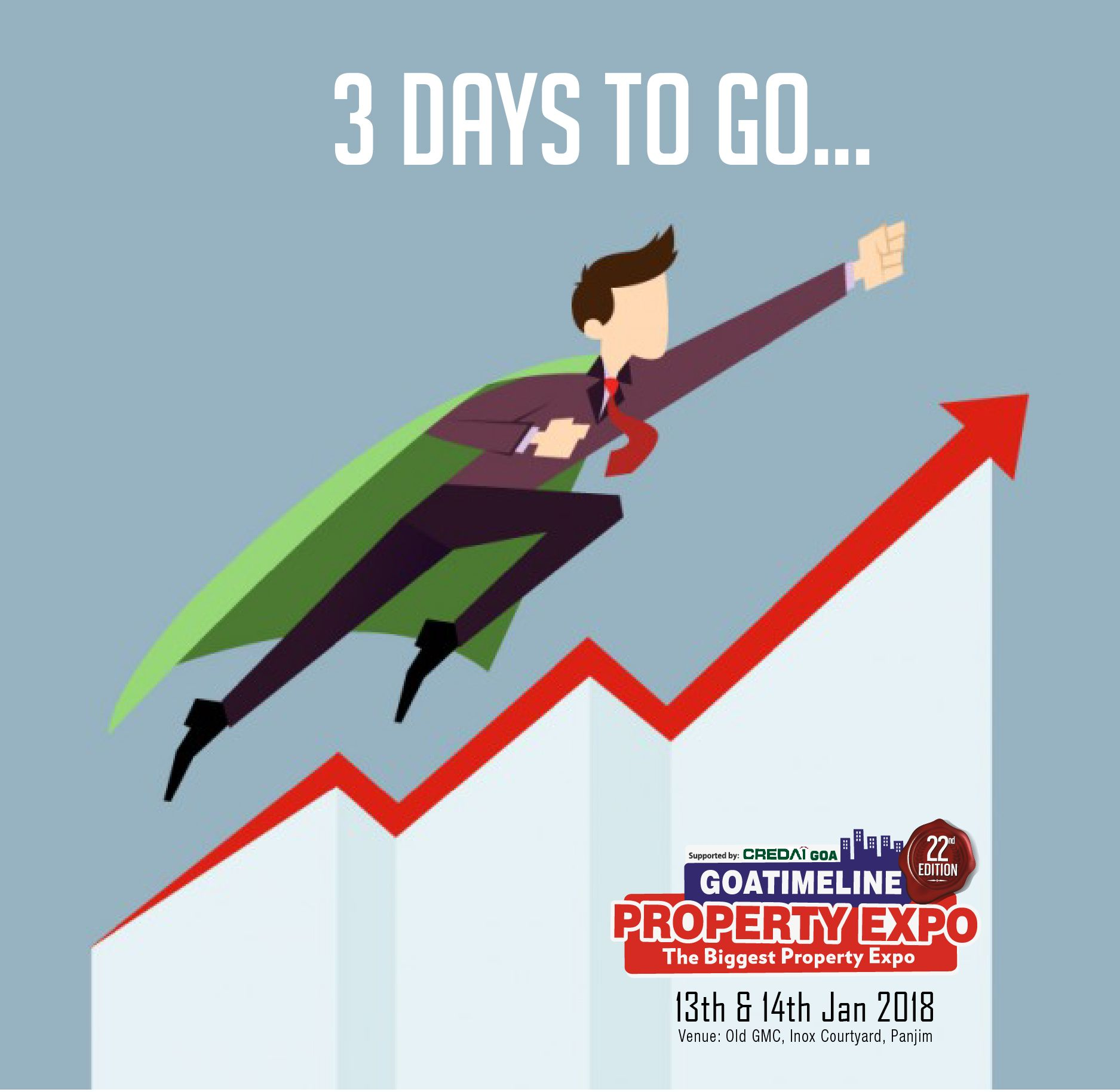 3 Days To Go Brace Yourself And Start Your New Year With Great Fortune The Most Highly Rated Property Expo Is Ready To Furnish Your Requests For Properties H