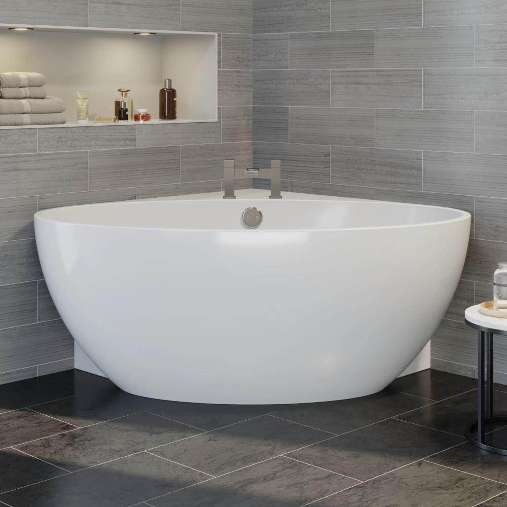 Moderne Designer Ecke Freistehende Badewanne Acryl Badewanne 1510mm Einbau Ebay 1510mm Acryl Badewa In 2020 Freestanding Corner Bath Free Standing Bath Corner Bath