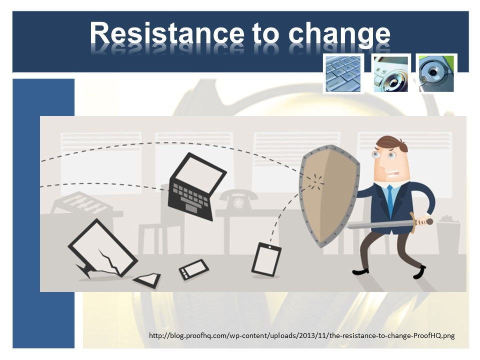 Go From Resistance to Change to How can we leverage technology