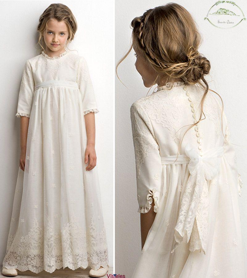 Vestidos primera comunion tizzas