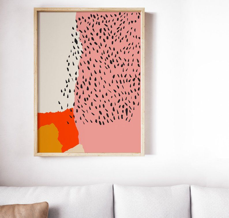 Printed Abstract Print Abstract Wall Art Wall Decor Art Etsy Prints Abstract Wall Art Art Gallery Wall