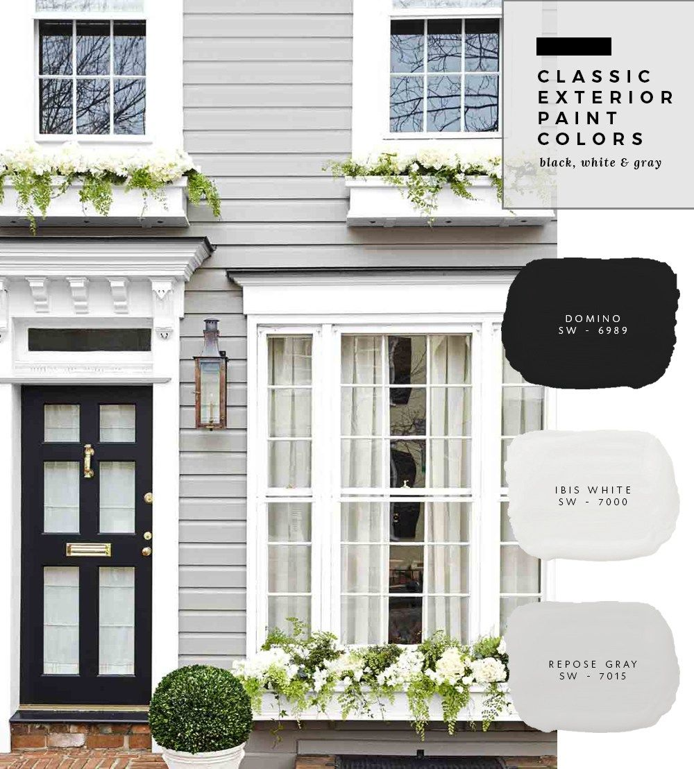 Exterior Paint Color Combinations Room For Tuesday Gray House Exterior Exterior House Paint Color Combinations Exterior Paint Colors For House