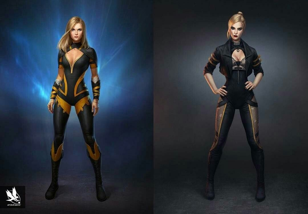 Black Canary Superhero Design Black Canary Injustice 2 Characters