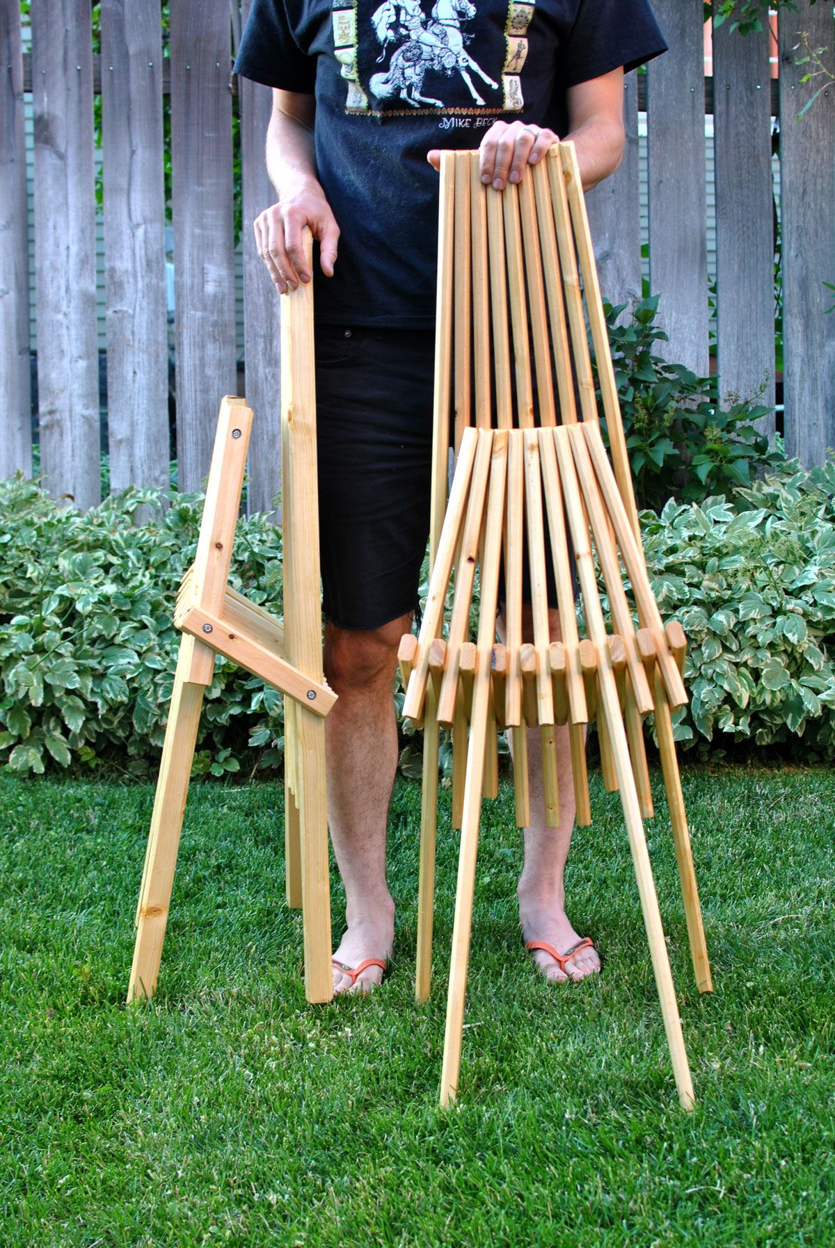 How to make your own modern chairs on a budget | Diy chair ...
