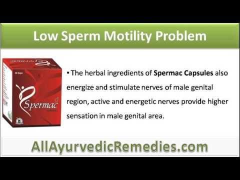 Treating sperm motility