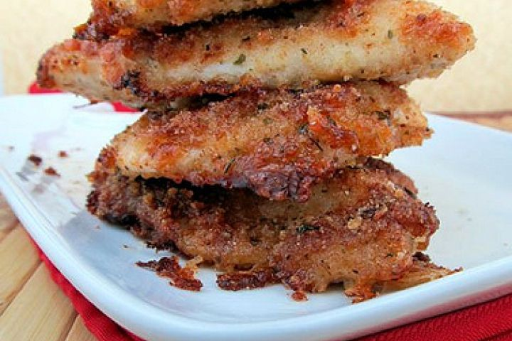 Parmesan Crusted Chicken Xxi Recipe Poultry Pinterest