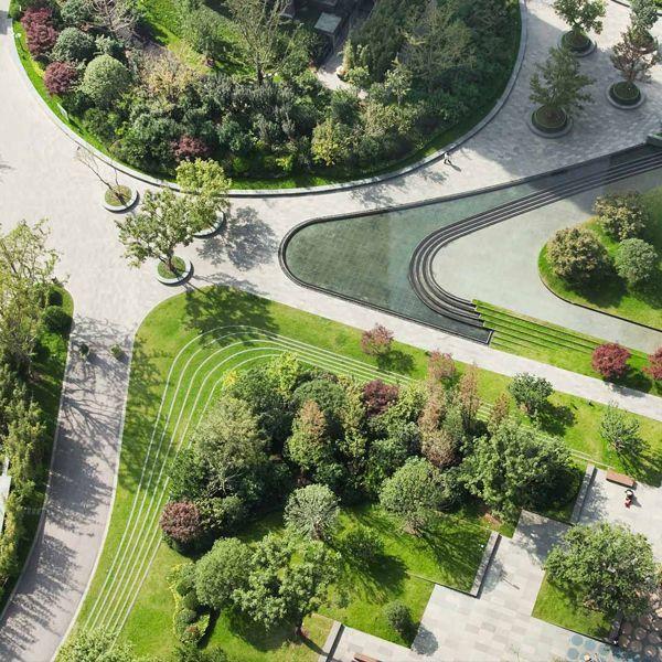 Landscape Design Structure: Website For Landscape Design & Urban