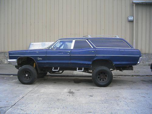 Pontiac Catalina Lifted Abit Wheel Drive Pinterest