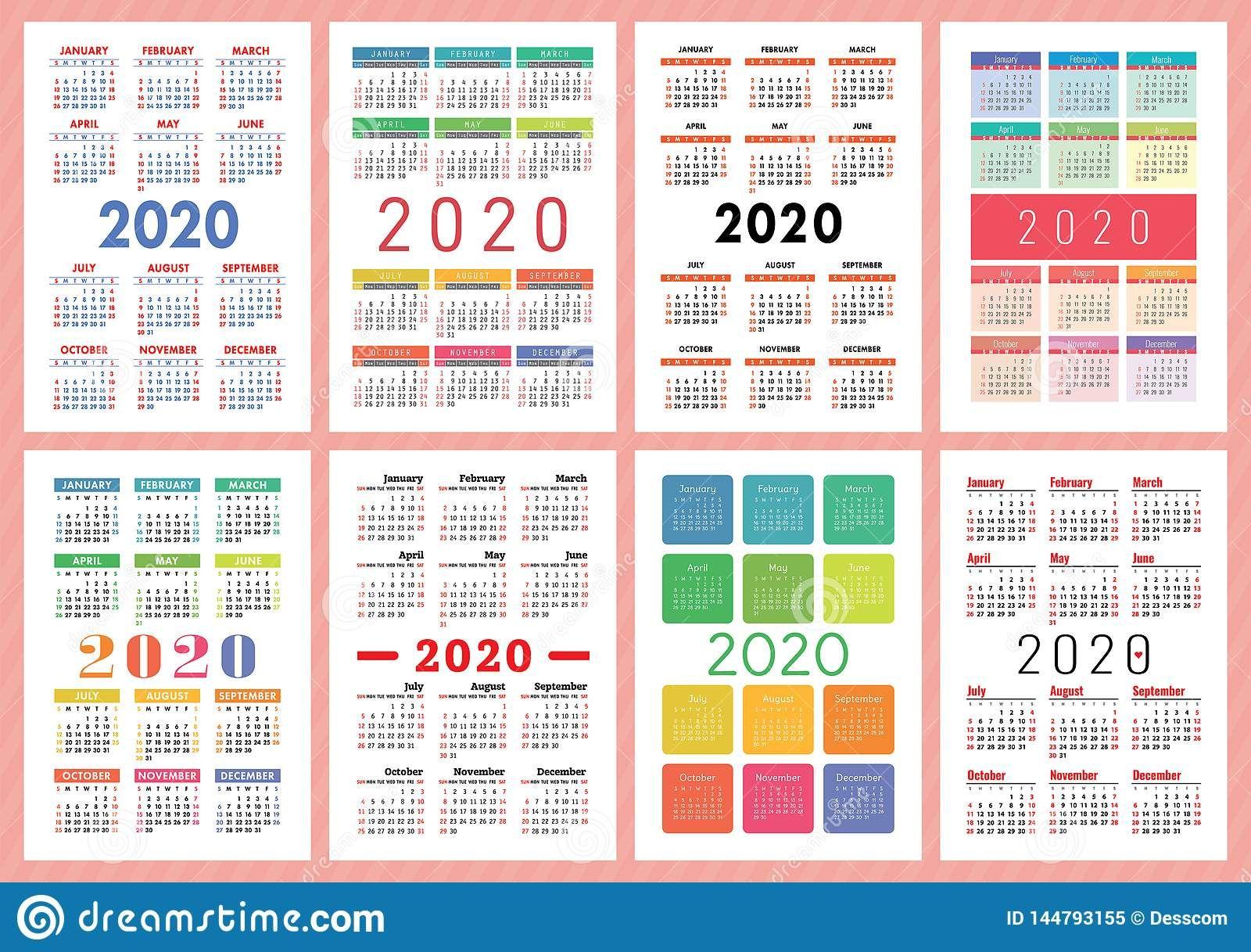 20+ 3 Year Calendar 2020 To 2023 - Free Download Printable ...