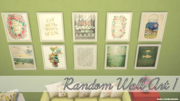 Random + The Beatles Wall Art at Simply Aimee Lorraine via Sims 4 ...