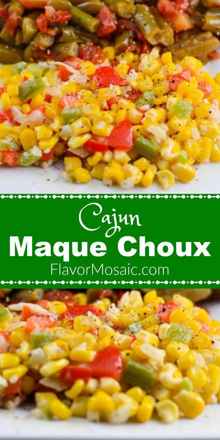 Maque Choux (A Cajun Corn Side Dish) - Flavor Mosaic