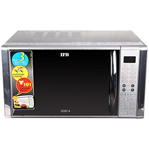 Ifb 30 L Convection Microwave Oven 30sc4 Metallic Silver
