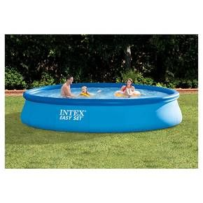 Backyard Ocean S 16 Ft Diameter X 42 In 3 5 Ft High Float To Fill Ring Pool Set Will Quickly Bring Endless Summer Pool Swimming Pools Outdoor Swimming Pool