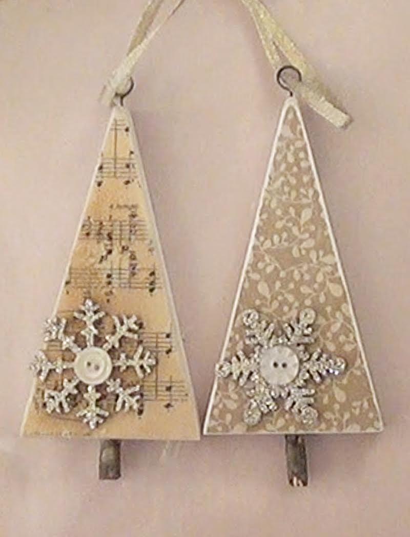 Decoart mixed media blog article oh christmas tree craft