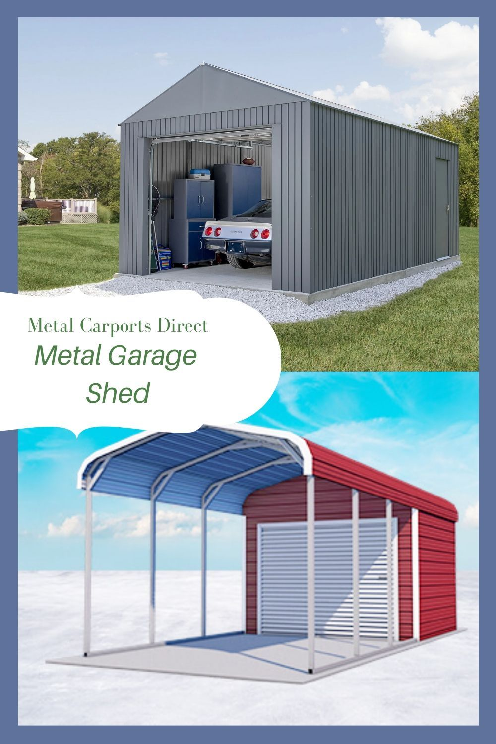 Improves Home Value with Metal Storage Building in 2020