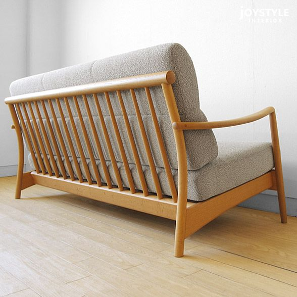 The Wooden Sofa Cover Ring Sofa Scandic 2p Net Shop Limited Original Setting Where A Design Of The Domestic Japanes Wooden Sofa Wooden Sofa Designs Sofa Covers