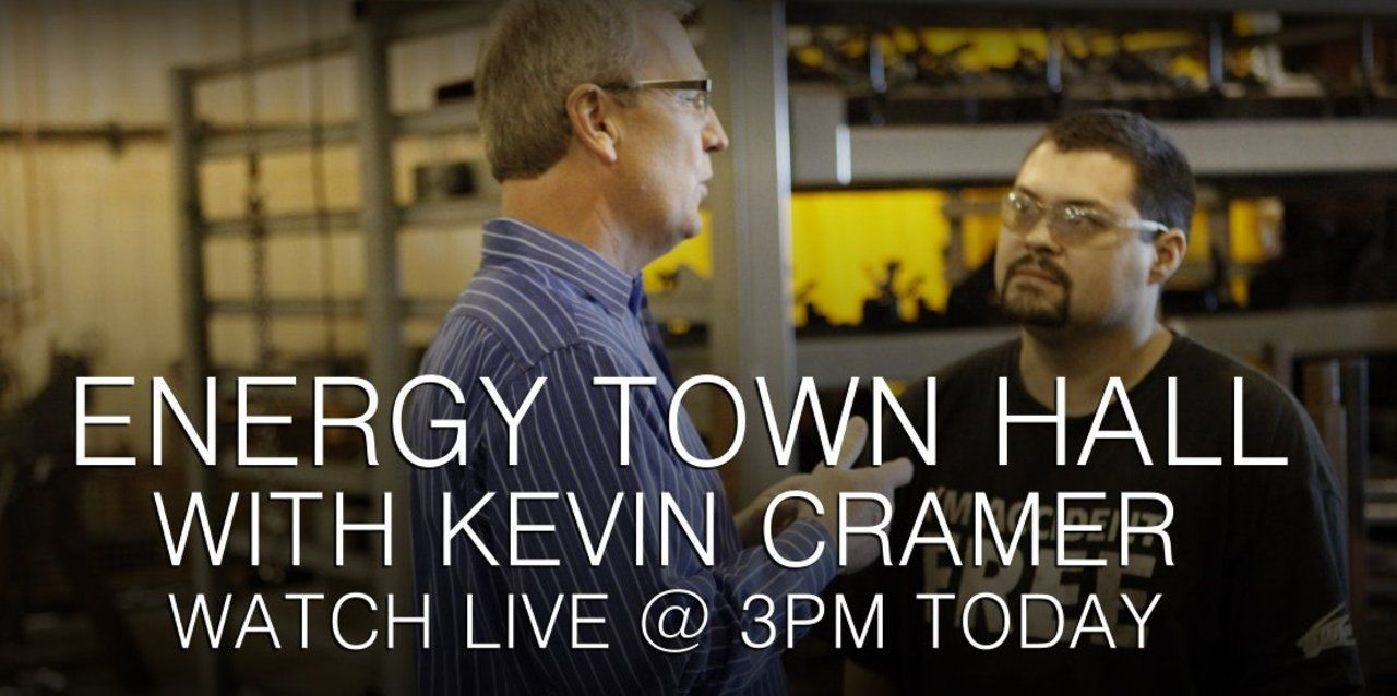 Live Video Rep. Kevin Cramer Town Hall At 300pm Central