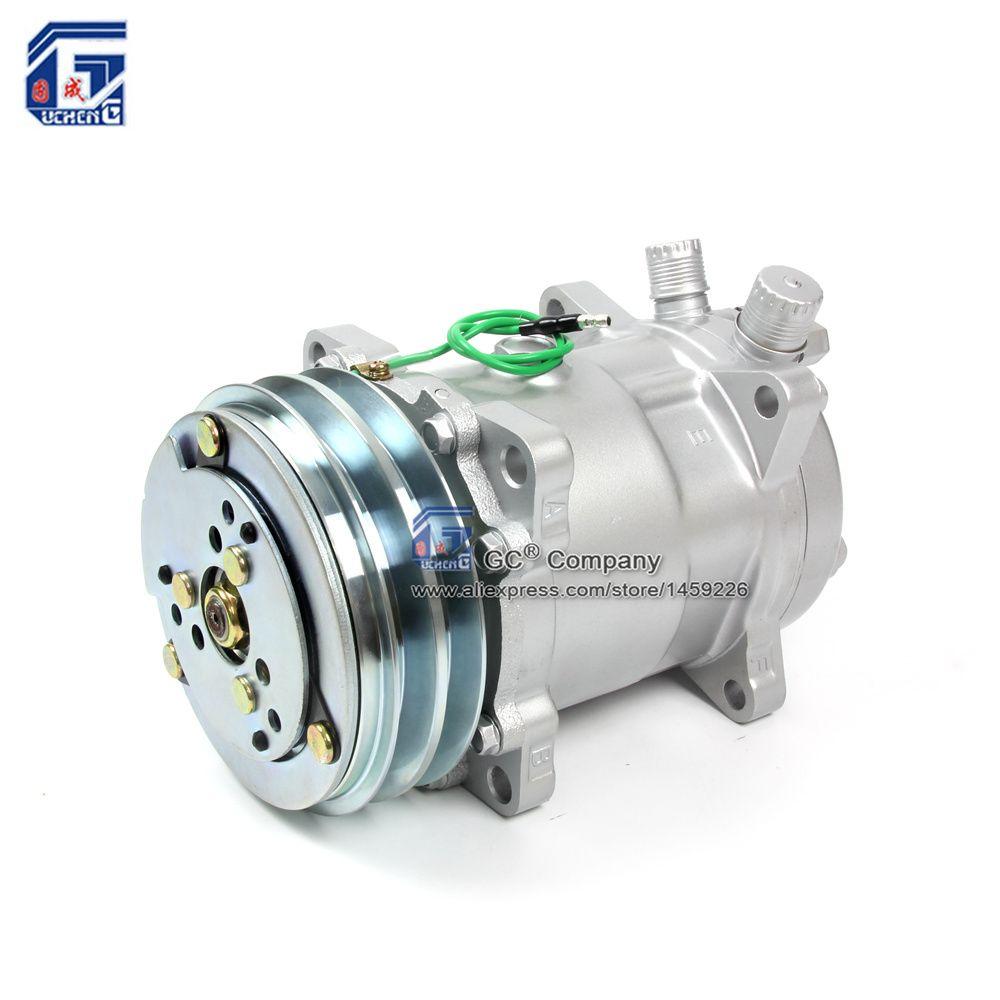 Ac ac air conditioning compressor sd508 5h14 12v 24v 2a