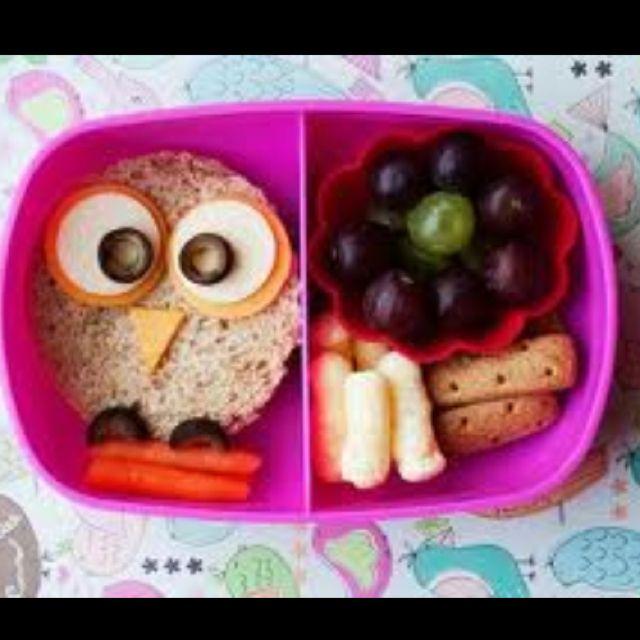Bento box example: Owl cuteness