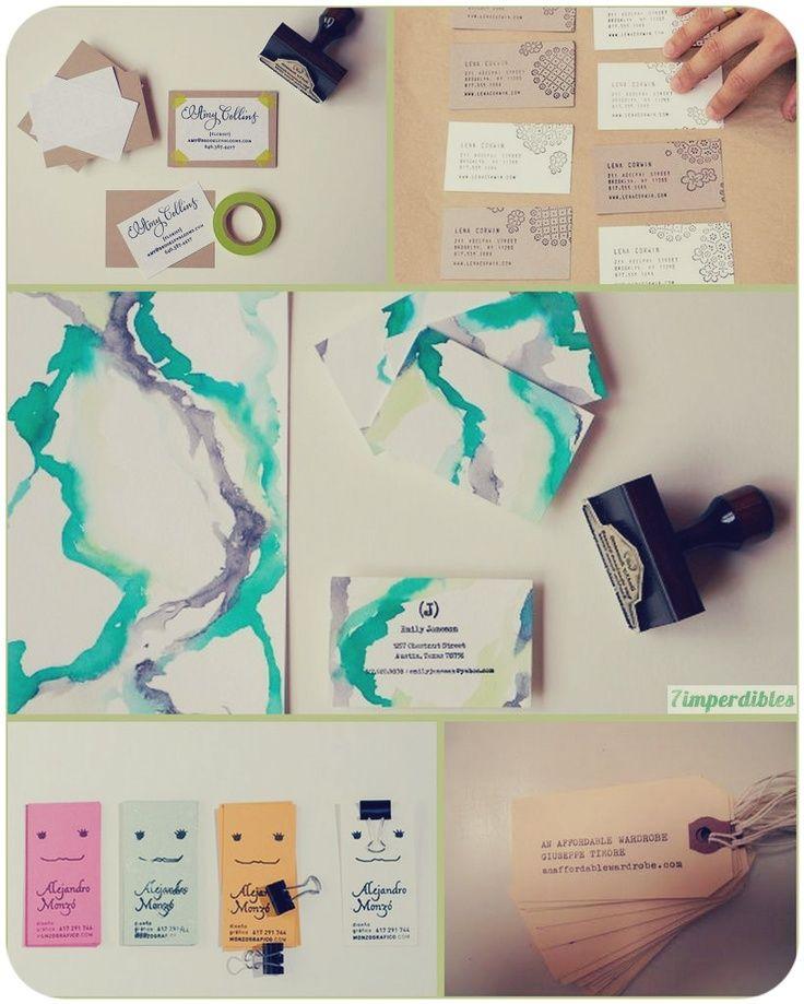 tarjetas de presentacion creativas - Google Search DIY Pinterest - tarjetas creativas