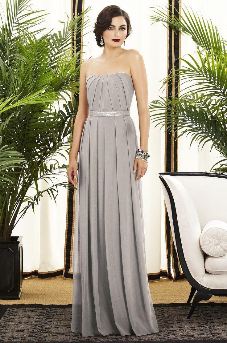 4fd3bda5e Vestidos color gris para damas de boda  FOTOS