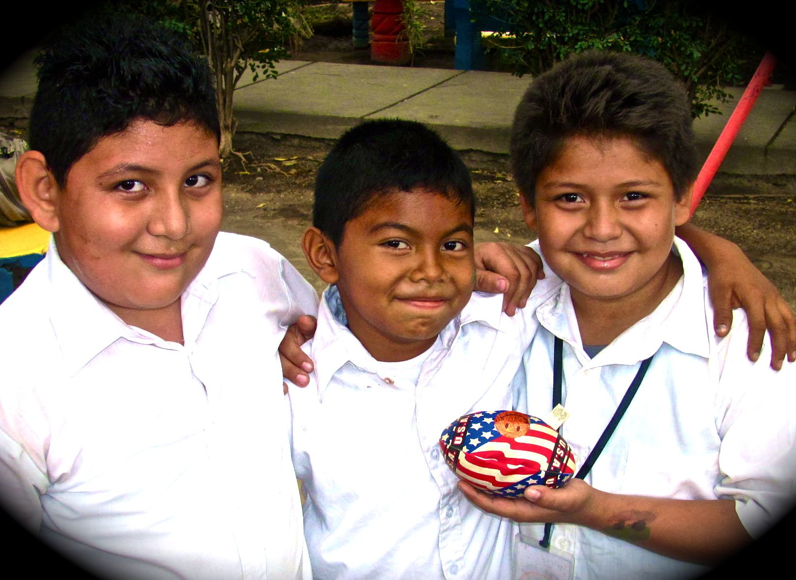 We stumbled upon local school boys playing an American game in Nicaragua