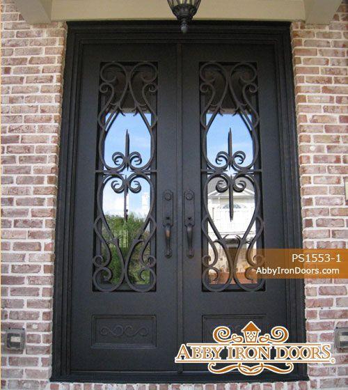 Abby Iron Doors & Abby Iron Doors | Iron doors | Pinterest | Iron Doors and Front doors