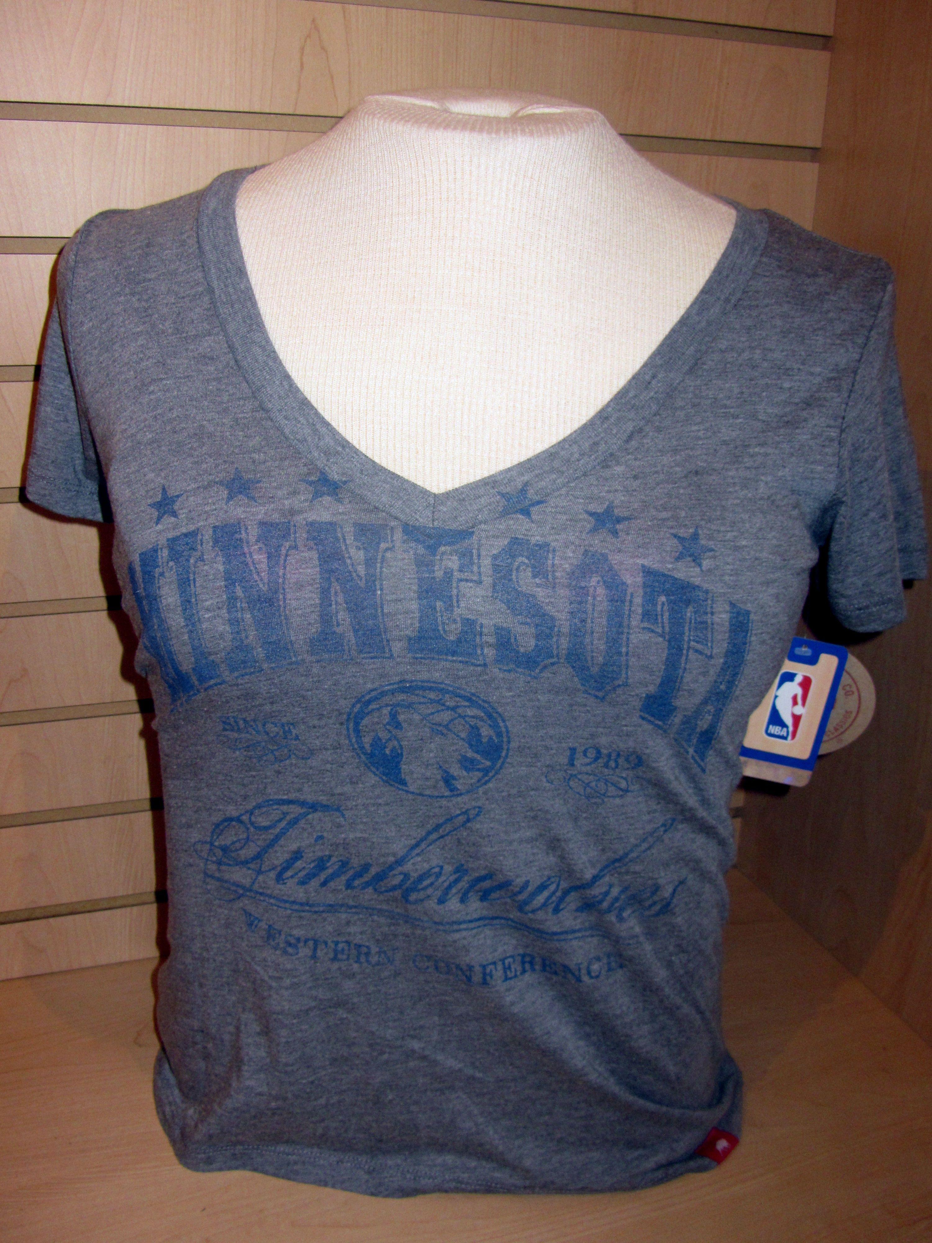 75ca79f5 Women's Minnesota Timberwolves V-neck... $25 | Apparel | Pinterest ...