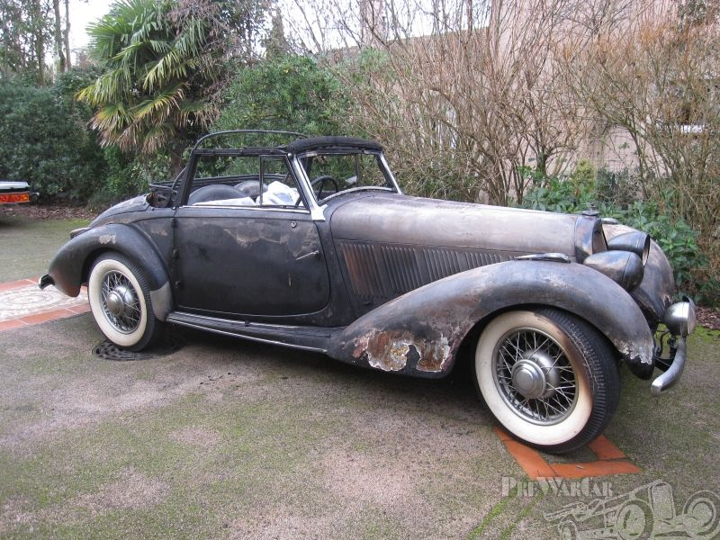 Talbot Lago T15 2 seat roadster 1938 for sale 2 | BARNFINDS ...